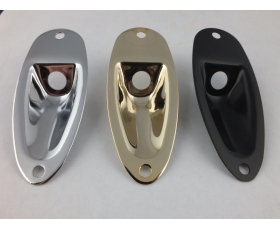 JACK PLATE for Stratocaster Style Guitars in 3 colours
