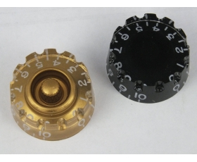Knurled SPEED DIAL Knobs to fit Gibson/Epiphone style guitars