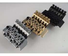 Licensed FLOYD ROSE BRIDGE  Chrome, Black or Gold 42 or 43mm Nut