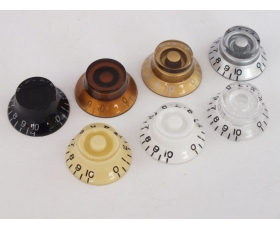 TOP HAT Bell KNOBS for Les Paul Gibson style guitars in 7 Colours