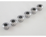 Chrome Plastic Reducer Bushings for Vintage Mach..