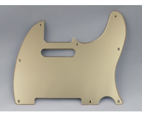 Mirror Gold 8 hole Scratch Plate Pickguard for TELECASTER