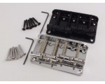 ELECTRIC BASS Guitar Bridge 4 String in Chrome o..