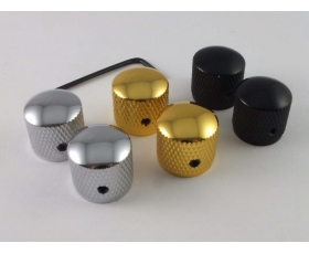 Vintage Screw fit Precision Bass Style Knobs in 3 Colours