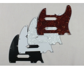 Scratch Plate Pickguard + 2 Strat Pick Up Holes for USA Telecaster