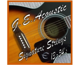 Acoustic Guitar Strings 13-54's Medium Gauge Phosphor Bronze