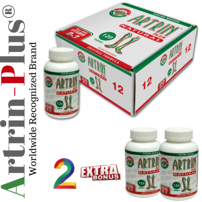 ONE YEAR SUPPLY PAIN RELIEF -ADVANCED  TREATMENT /ARTRIN PLUS-D3