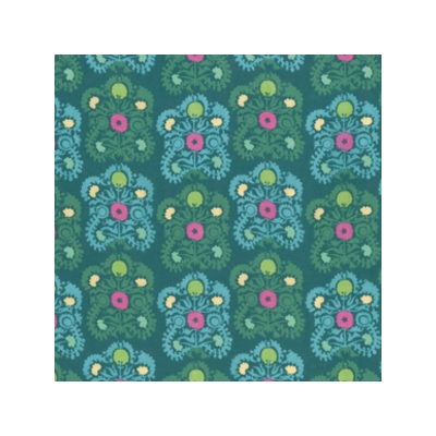 Amy Butler  - Dreamweaver Gypsy Embroidery Teal