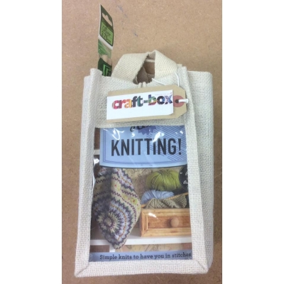 """get started"" knitting kit"