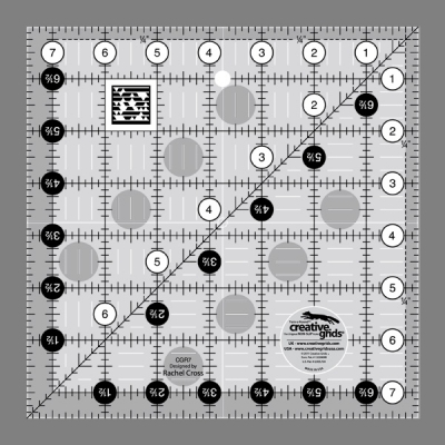 "Creative Grids 12½"" x 12½"" Ruler"