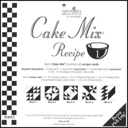 Cake Mix Recipe by Miss Rosie's Quilt Co.