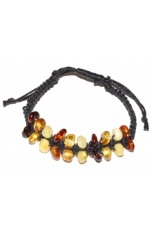 Baltic Amber Adjustable Brac..