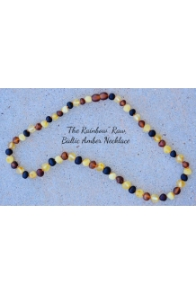Baltic Amber RAW Necklace Adult Size 17