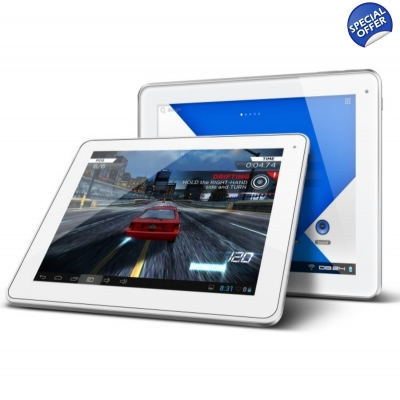 "NovaPad Bolt 9.7"" Quad Core Android 4.2 Jelly Bean TouchTab Tablet Retina Screen"