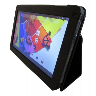 "Kick Stand Case for 10.1"" NovaPad Android Tablet PC A20 A23 A31 A33 A83T PU Leather"