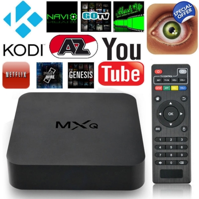 MXQ Android Smart TV Box HD 1080 with XBMC KODI Quad Core CPU Media Player SPECIAL OFFER