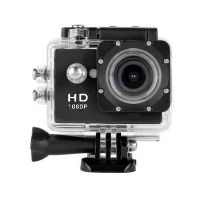 1080p Action Sport Bike Cam Camera Waterproof HD Video Helmetcam A9 DV Black