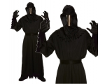 Death Robe with Mirror Mask Costume