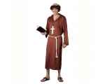 Monk of the Abbey Costume - Friar Franciscan Robe