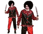 Horror Clown Man Costume
