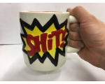 SHIT XL Large Mug