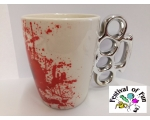 Knuckle Duster Mug - Gangster Bling Tea Mug!