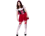 Little Dead Riding Hood Costume - Short Dress