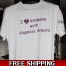 AAAF Slogan T-Shirt I Love Someone White