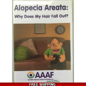 Children's explanation DVD - Alopecia Areata- Why does my hair fall out