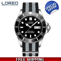 Loreo Military Sub Automatic Date on Bond NATO s..