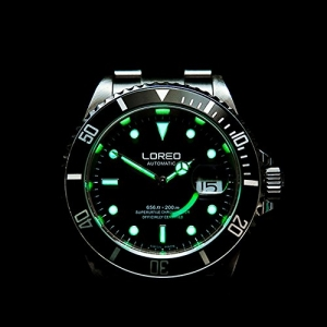 Loreo Stainless steel Sub Automatic Divers Watch