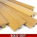 European solid oak 3m thresholds