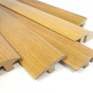 European solid oak 1m thresholds