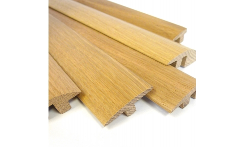 European solid oak 2m thresholds