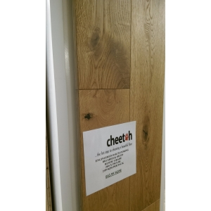 Cheetah Structural Engineered Rustic Oak 190mm Brushed & Oiled