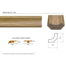 Scotia Beading Natural Oak L..