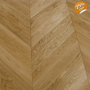 Timber Top Engineered Oak Chevron Matt UV Oil