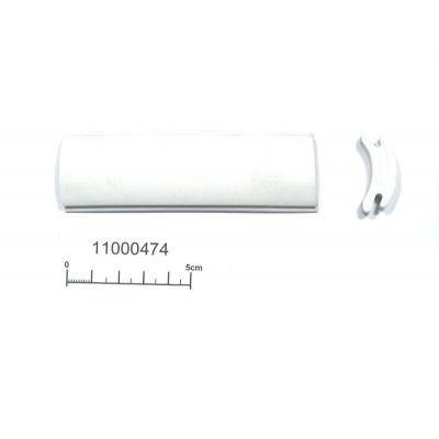 Fender insert white for 50mm aluminium 30m roll