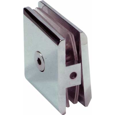 Shower screen bracket Wall to glass clamp