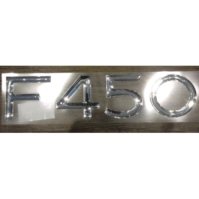 Raised decal F450