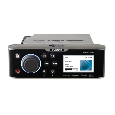 Fusion AV750 DVD Player AM / FM / USB / HDMI / Bluetooth / NMEA / Ethernet / DLNA