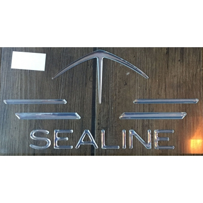 Sealine logo & name dec..