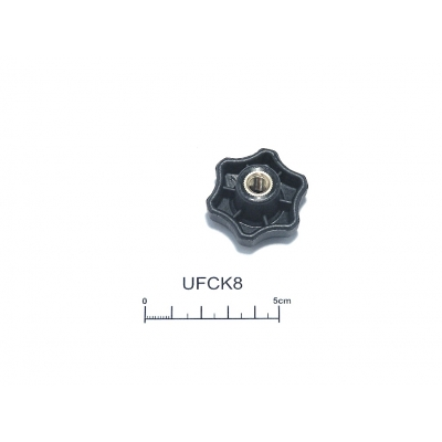 Canopy clamping knob female