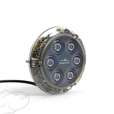 Bluefin LED Piranha P6 NITRO SM 12v White, green or blue