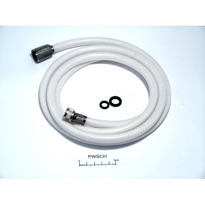 White Reinforced Plastic Transom Shower Hose