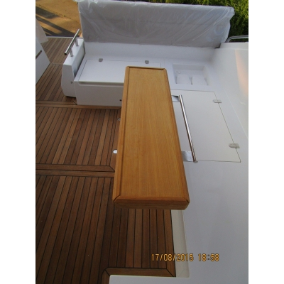 Teak cockpit table SC35..