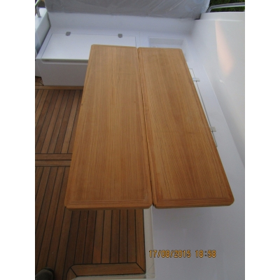 Teak cockpit table SC35 S380 F42 F46