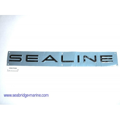 "Chrome ""SEALINE"" Decal NO LONGER MANUFACTURED"