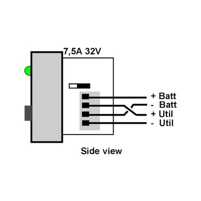 Dimmer switch for Gewiss