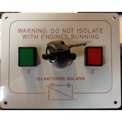 Battery Isolator 12v wi..